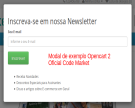 Super Modal e Pop Up - Marketing, Cupom, Ofertas, Rede Social...