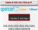 Contador de Visita Total e Diárias por IP para Opencart