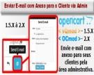 Enviar E-mail com Anexo para o Cliente via Admin para Opencart
