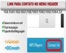 Link para página de contato no menu do cabeçalho (header) - vQmod/OCmod