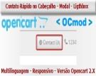 Contato Rápido no Cabeçalho - Modal - Lightbox - OCmod