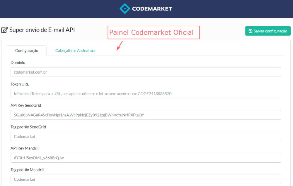 Super Envio de E-mail API - SendGrid, Mandrill, Mailgun e SparkPost Opencart - Foto 1