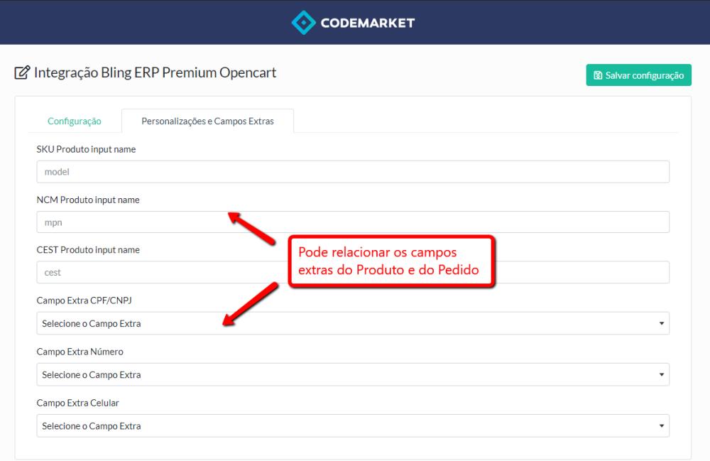 Integração Bling ERP Premium Opencart - Foto 3