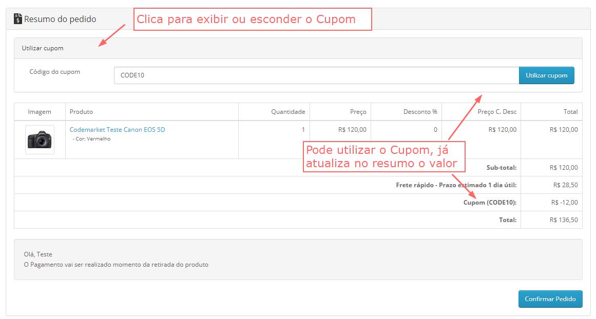 Checkout Lite Opencart - One Checkout Conversion - Foto 4