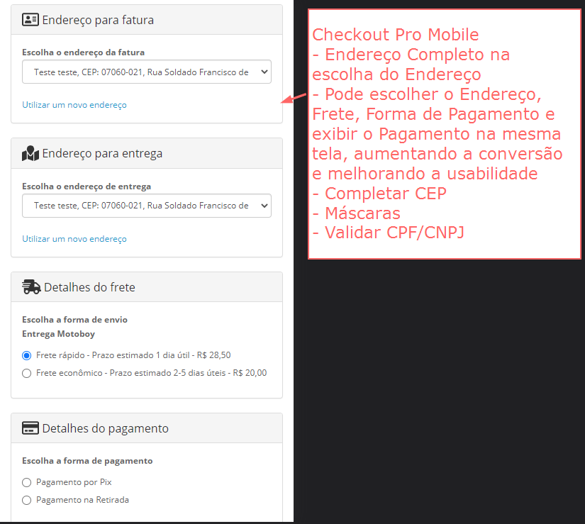 Checkout Pro Opencart - One Checkout Conversion - Foto 4