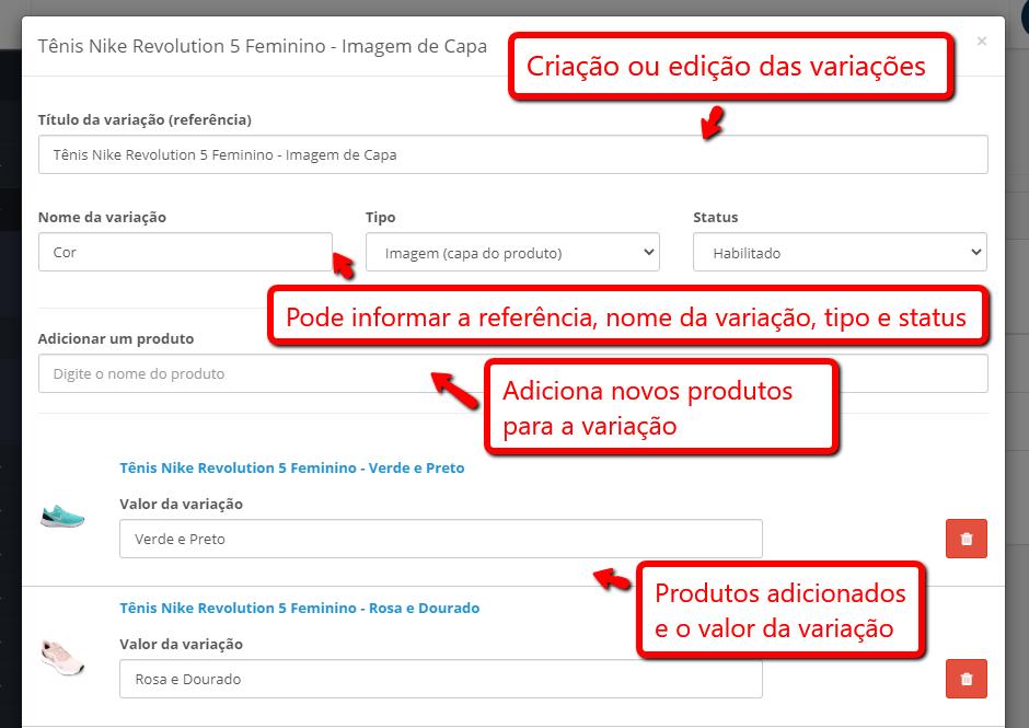 Sistema de Variações no Produto - Opções relacionadas (tamanho, cor...) Opencart - Foto 4