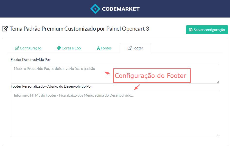 Tema Padrão Premium Customizado por Painel Opencart 3 - Foto 4