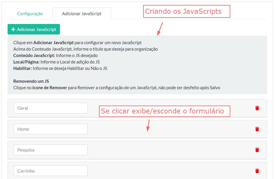 Adicionar JavaScript - Remarketing, Conversão e Outros Opencart - Foto 2