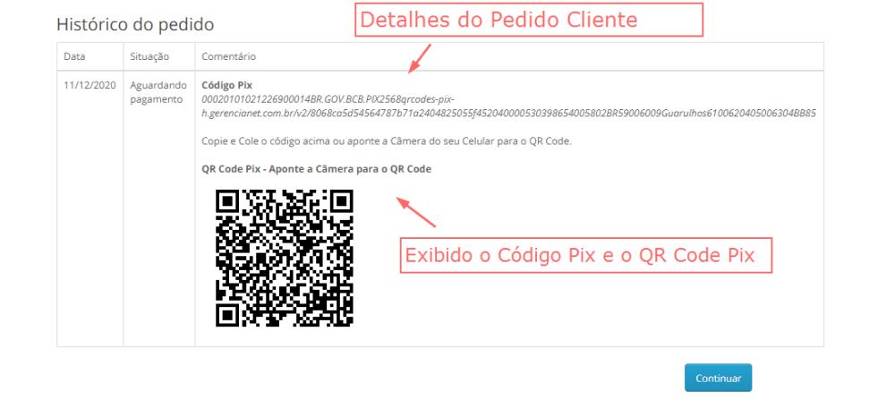 Pagamento Gerencianet Pix Opencart - Foto 2