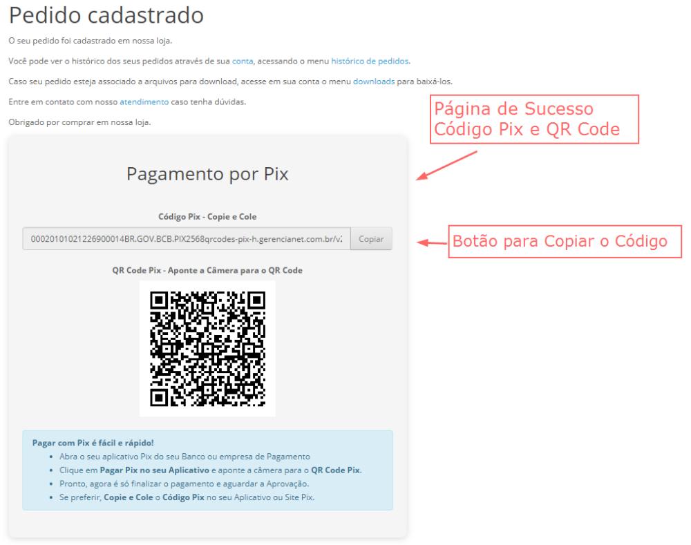 Pagamento Gerencianet Pix Opencart - Foto 1