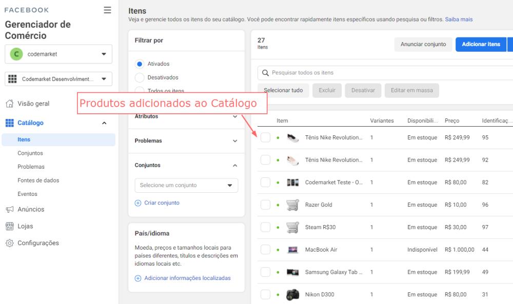 Facebook e Instagram Catálogo - Feed de Produtos Opencart - Foto 2