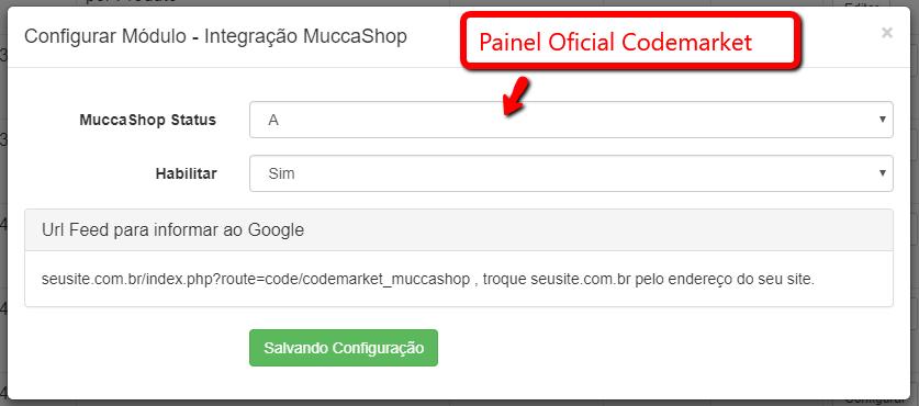 Integração MuccaShop para Opencart  - Foto 1