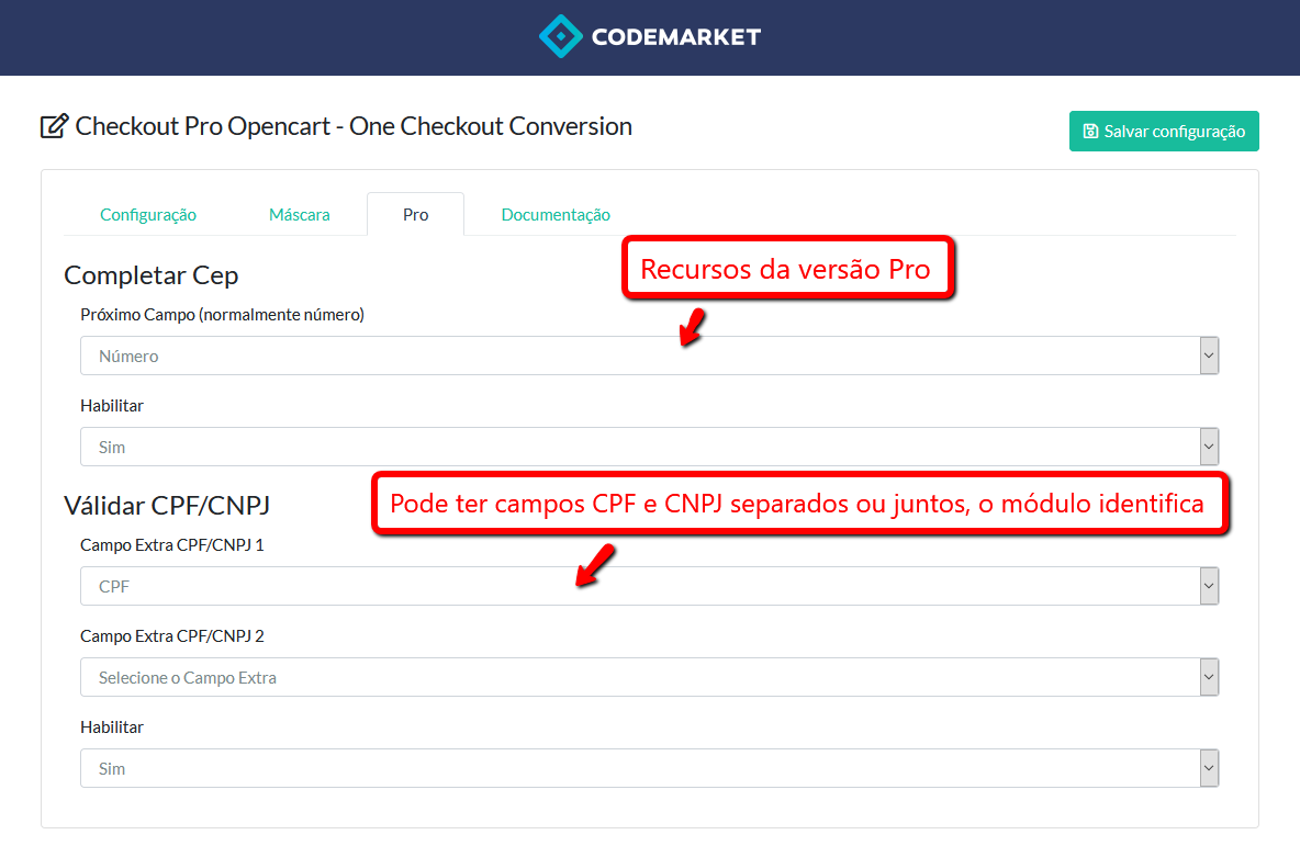 Checkout Pro Opencart - One Checkout Conversion - Foto 3
