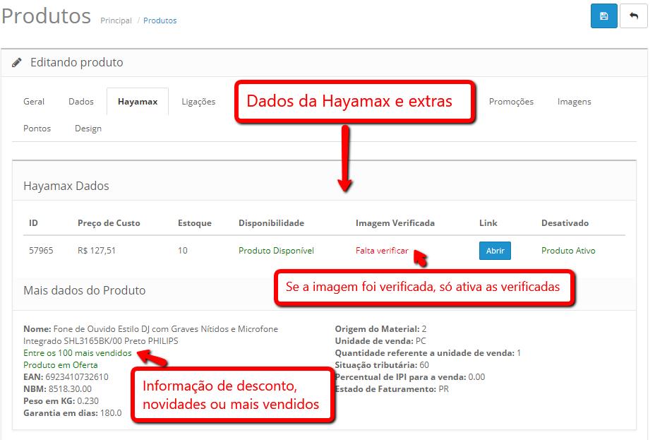 Integração Fornecedor Hayamax Premium - Importação de Produtos para Opencart - Foto 1