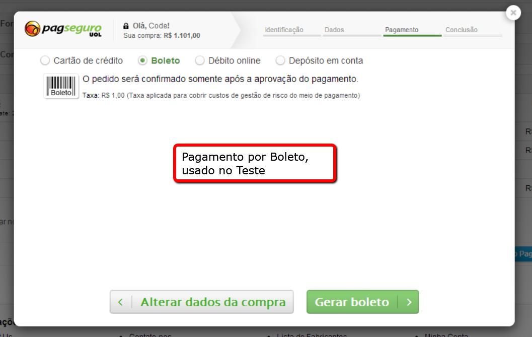 PagSeguro API Lightbox Premium para o Opencart - Foto 3
