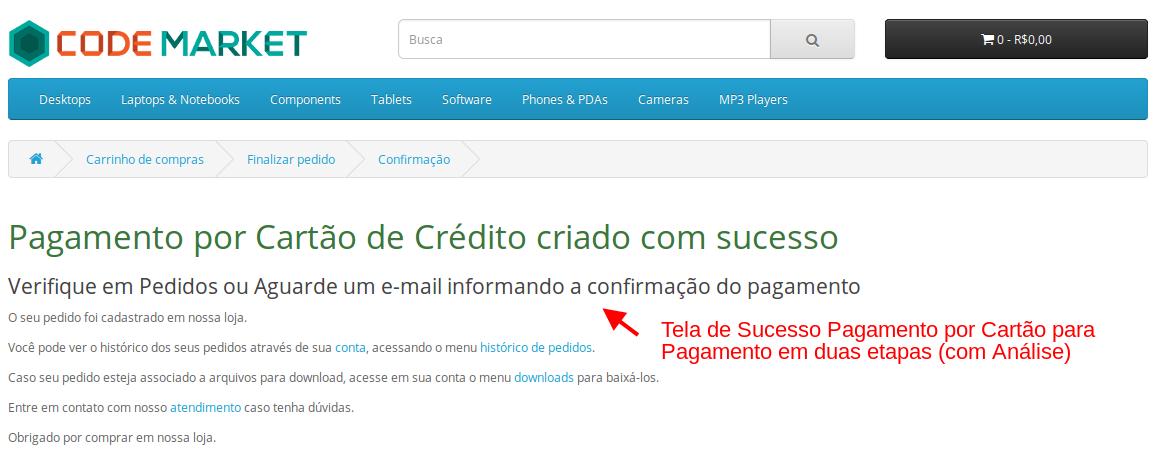 Pagamento Transparente IUGU API com Segunda Via para Opencart - Foto 2
