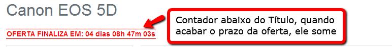 Oferta Especial com Contador na Página do Produto para Opencart - Foto 3