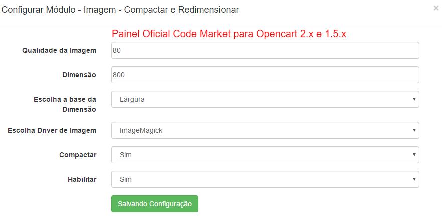 Imagem - Compactar e Redimensionar para Opencart - Foto 1