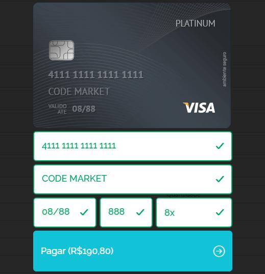 Pagamento Checkout Pagar.me com segunda via para Opencart - Foto 1