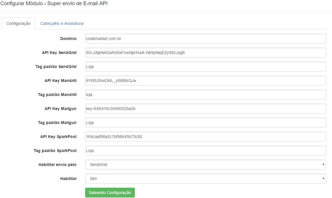 Super Envio de E-mail API - SendGrid, Mandrill, Mailgun, SparkPost... - Foto 2