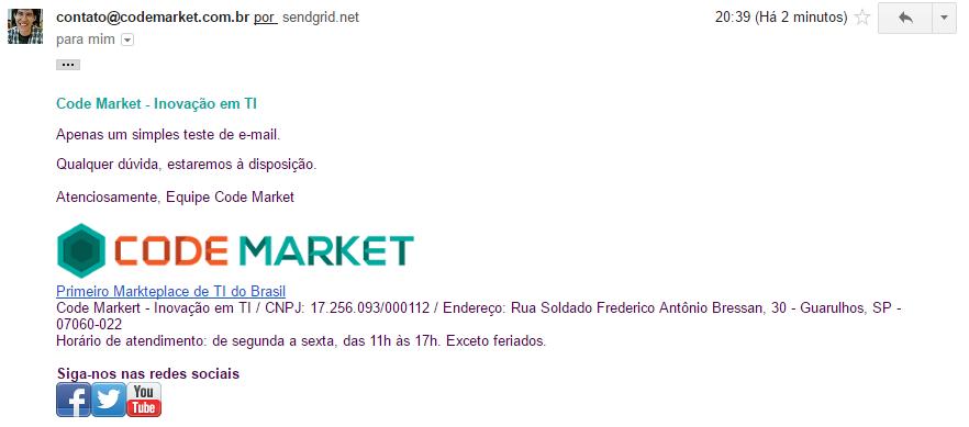 Super Envio de E-mail API - SendGrid, Mandrill, Mailgun, SparkPost... - Foto 1