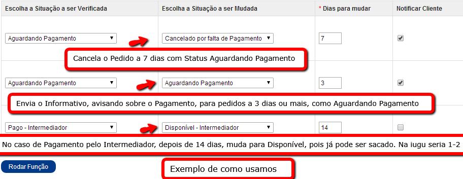Informar e Cancelar Pedidos a X dias com o mesmo Status para Opencart - Foto 2