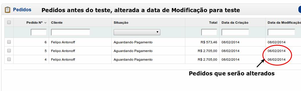 Informar e Cancelar Pedidos a X dias com o mesmo Status para Opencart - Foto 6