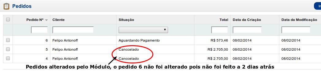 Informar e Cancelar Pedidos a X dias com o mesmo Status para Opencart - Foto 8