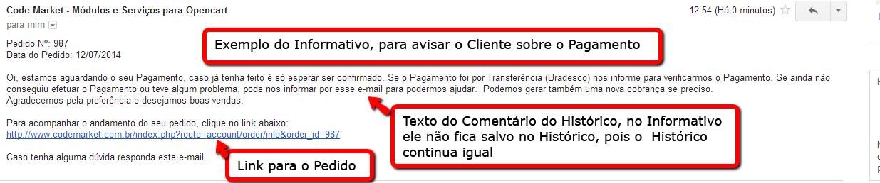 Informar e Cancelar Pedidos a X dias com o mesmo Status para Opencart - Foto 10