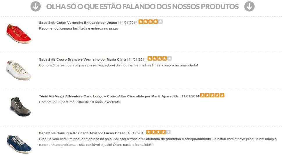 Comentários (Reviews) Produtos em qualquer página - Foto 3