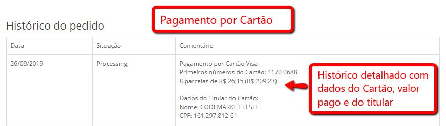 Pagamento Mercado Pago Transparente Boleto e Cartão Opencart - Foto 3