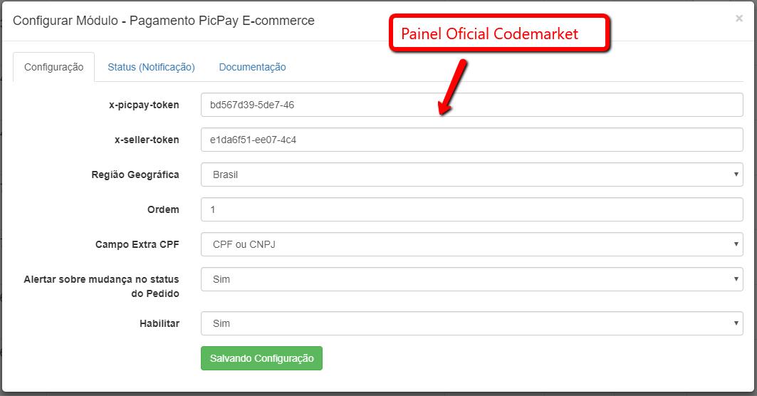Pagamento PicPay E-commerce Opencart - Pagamento pelo Celular - Foto 2