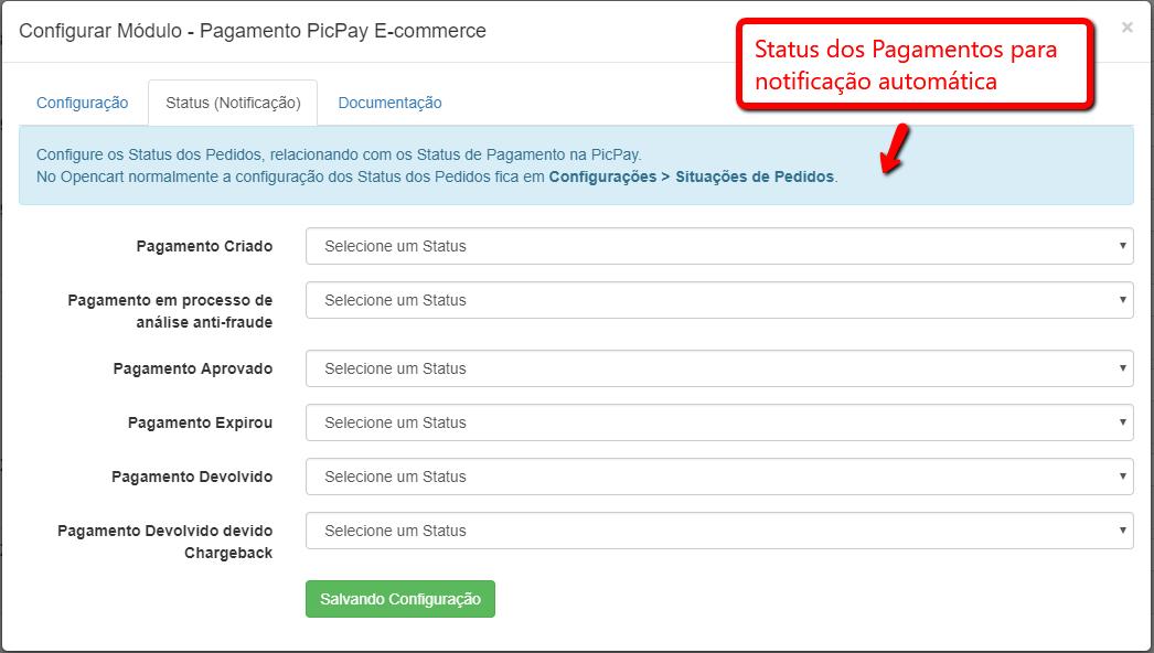 Pagamento PicPay E-commerce Opencart - Pagamento pelo Celular - Foto 3