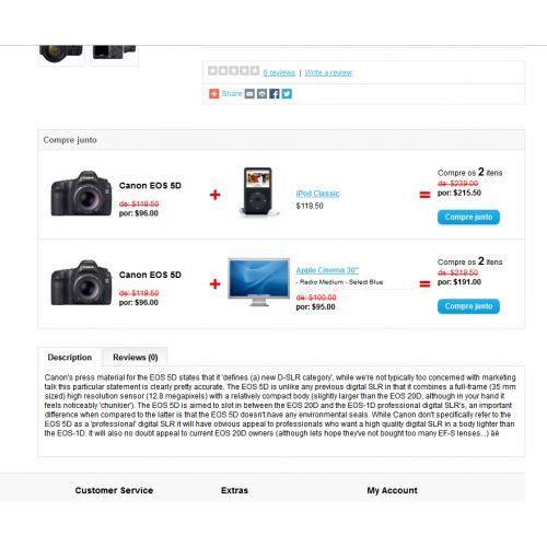 Compre Junto - Desconto no Produto Complementar - Foto 1