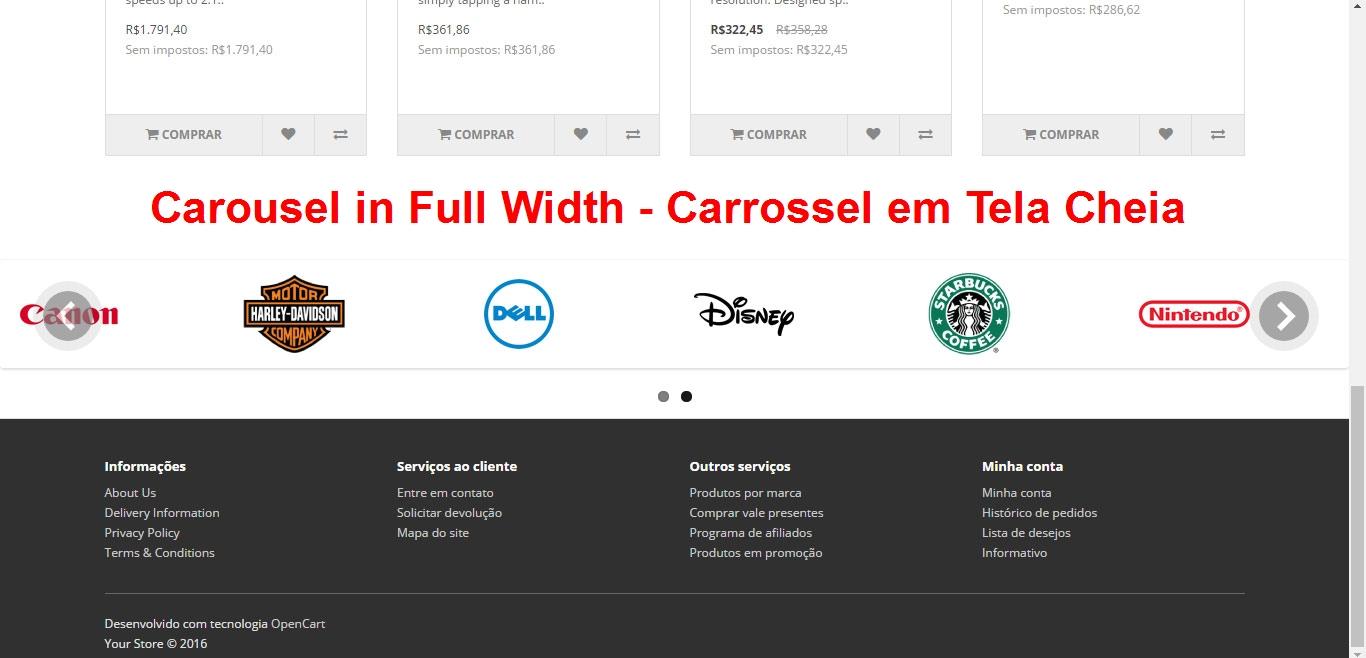 Banner Slideshow e Carrossel em Tela Cheia - Novas Posições  - Foto 4
