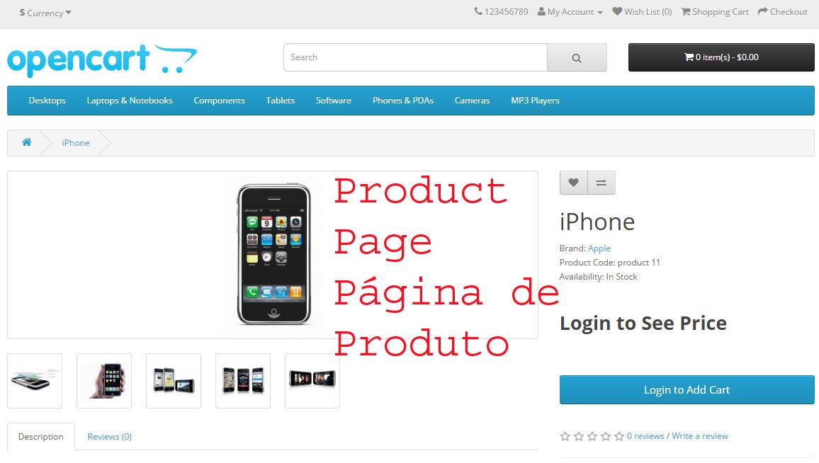 Comprar somente após logar - Opencart versão 2.X - Foto 4