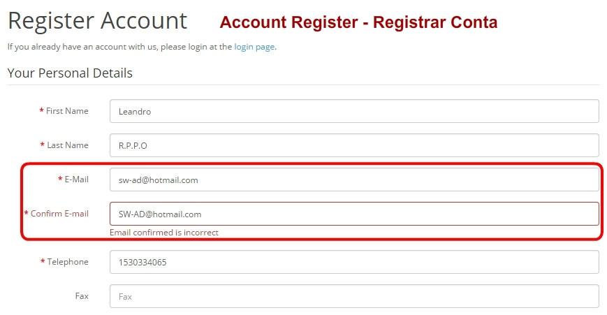 Confirmar E-mail para Opencart - Foto 4