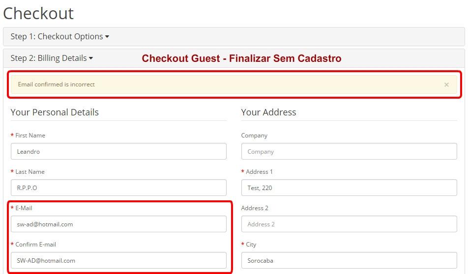 Confirmar E-mail para Opencart - Foto 1