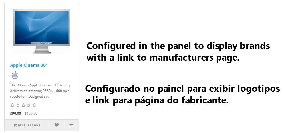 Logotipo de Fabricantes com Link para Página do Fabricante - Foto 7