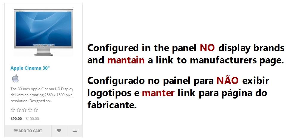 Logotipo de Fabricantes com Link para Página do Fabricante - Foto 4
