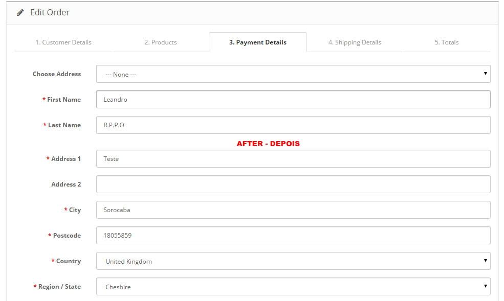 Remover Campo Referência - Opencart Versão 2.X - Foto 16