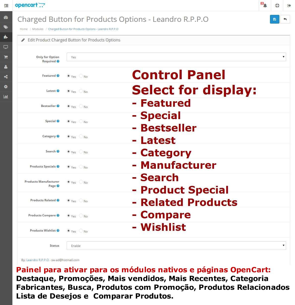 Modificar Botões de Produtos com Opções - Foto 8