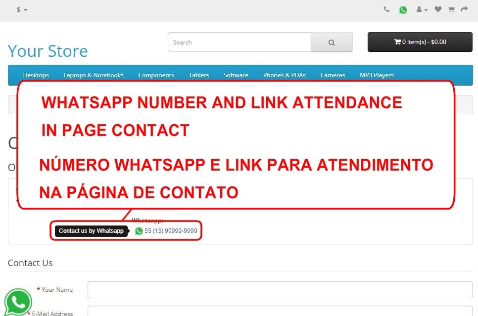 Whatsapp Número e Atendimento - Foto 7