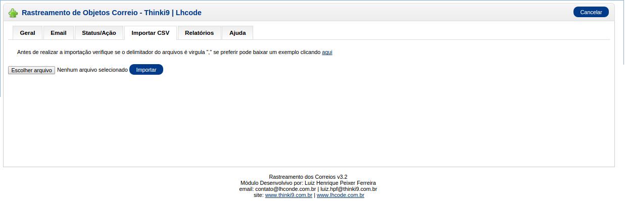 Rastreamento Automático e Etiquetas Correios para Opencart - Foto 2