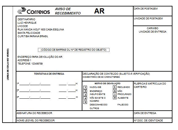 Rastreamento Automático e Etiquetas Correios para Opencart - Foto 14